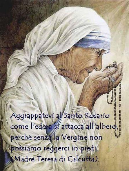 Beata Madre Teresa di Calcutta la matita di Dio...