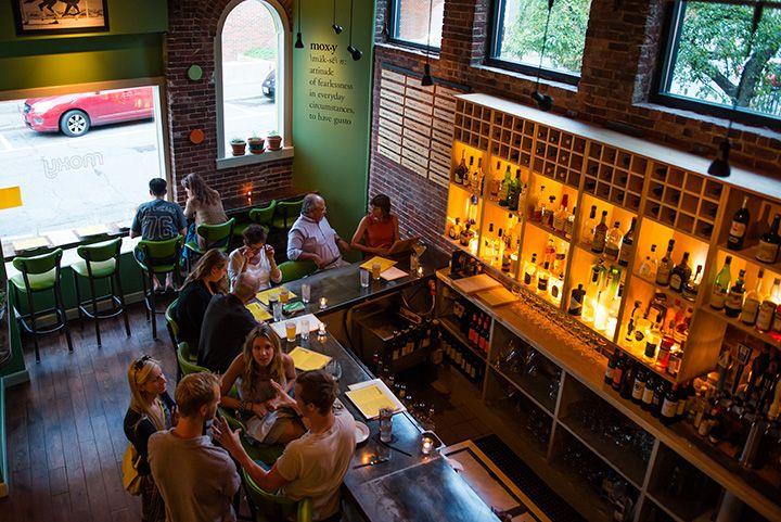 Where To Eat In Portsmouth, New Hampshire / Moxy Restaurant #YankeeMagazine #Culinary #GoPortsmouthNH