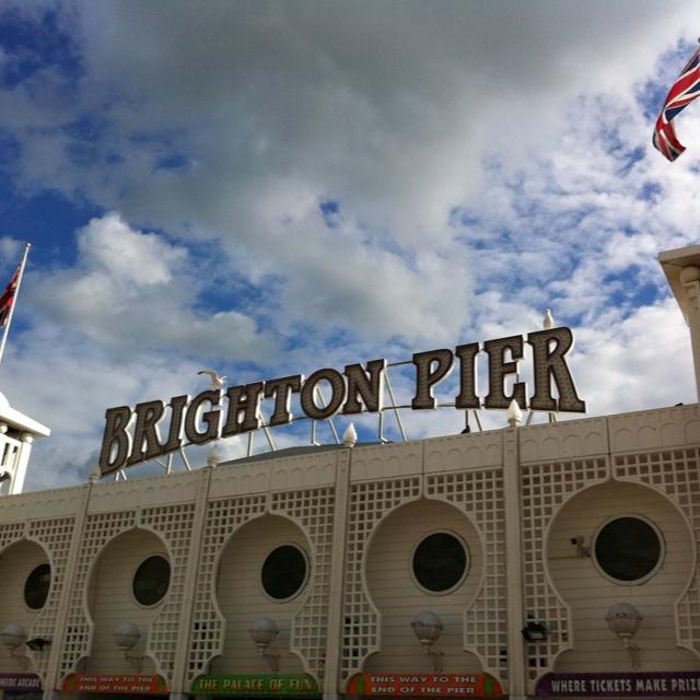 Brighton Pier in August 2012