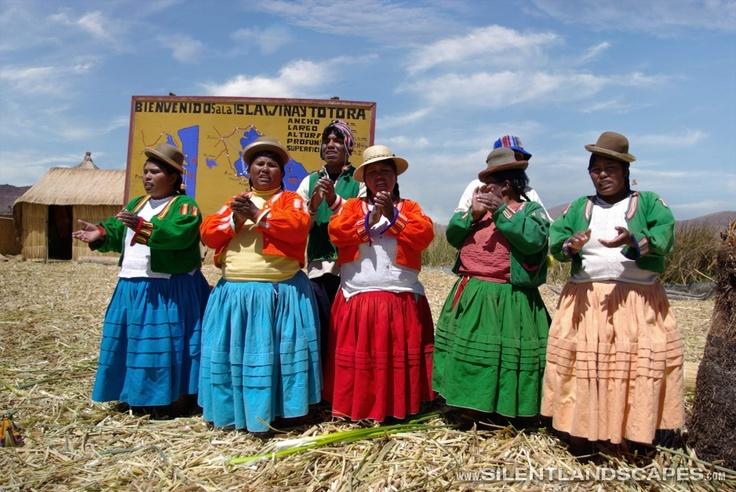Uros Islanders, Lago Titicaca, Southern Peru