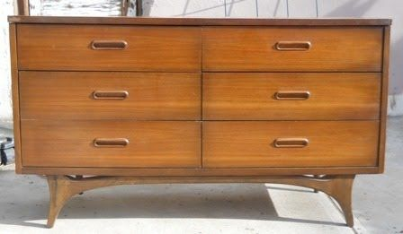 6 drawer dresser danish - Google Search