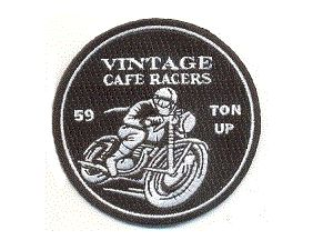 Vintage Cafe Racers 3 inch round patch