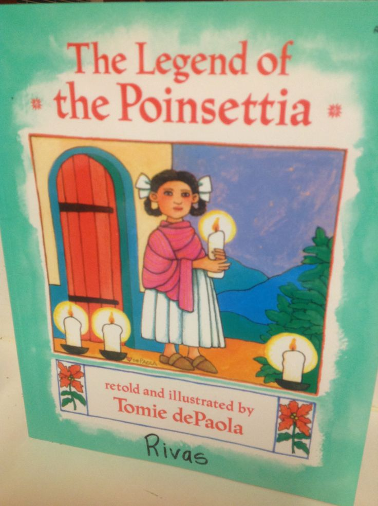 """The Ledged of the Poinsettia"" retold and illustrated by Tomie dePaola, tells the story of a young Mexican girl named Lucida who is heartbroken because she has no gift to bring to the Christmas procession for the baby Jesus.  The book is written in both an English version and a Spanish version, and both versions are pretty equal to each other, losing no richness to the story in its translation."