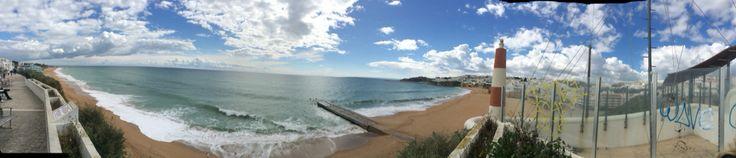 Albufeira beach, old town