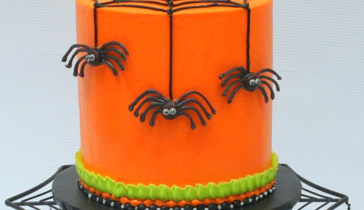 Chocolate Spiders! Free Halloween Cake Video
