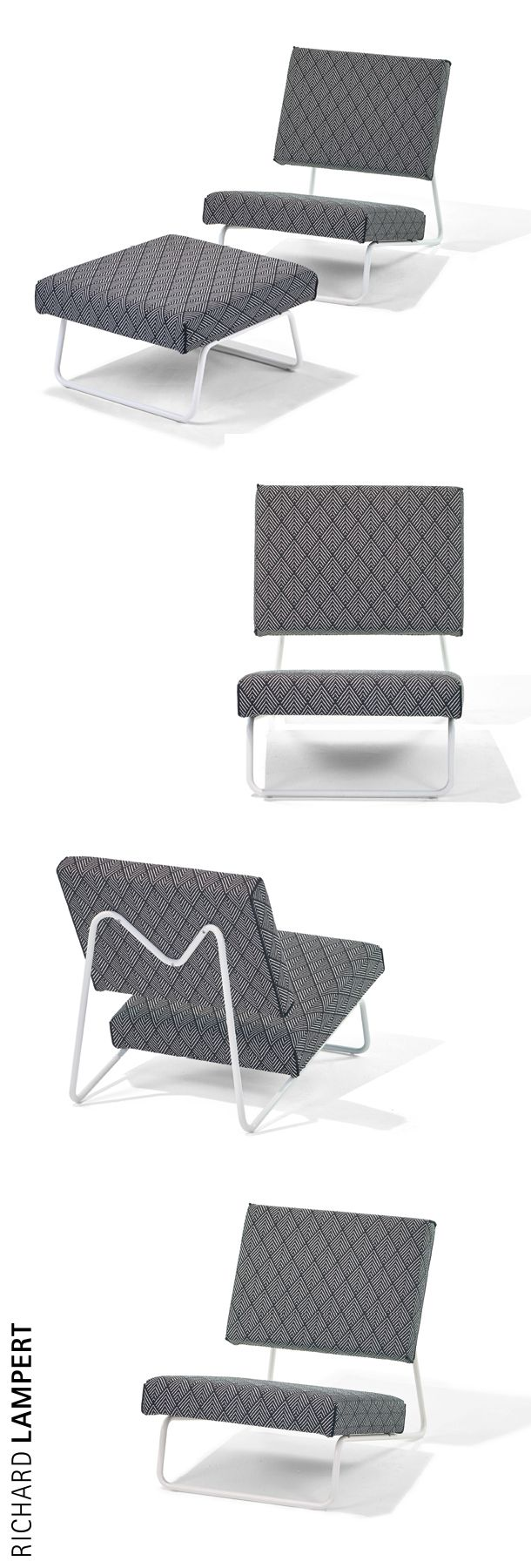 Lounge feeling outdoors – ›LOUNGE CHAIR OUTDOOR‹ by Herbert Hirche