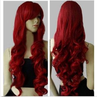 Cheap wig brown, Buy Quality wig quality directly from China wig scalp Suppliers:   Fashion wig long curly Middle part elegant  hair wig with hair net light brown hair cabelo peruca sintetica  perruque