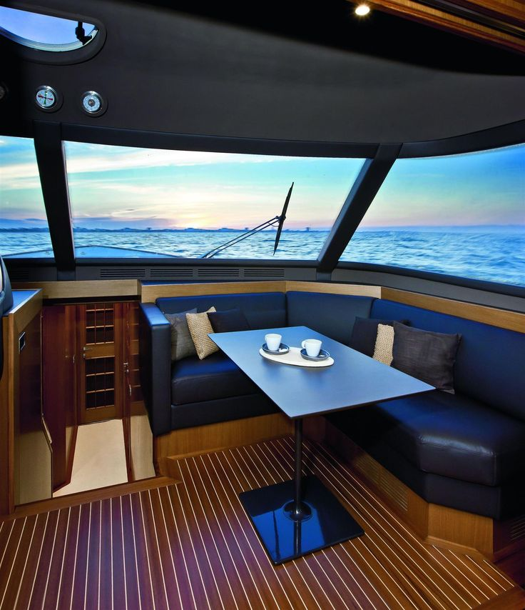 Internal view Mochi Craft - Dolphin 74' Cruiser #yacht #luxury #ferretti #mochi