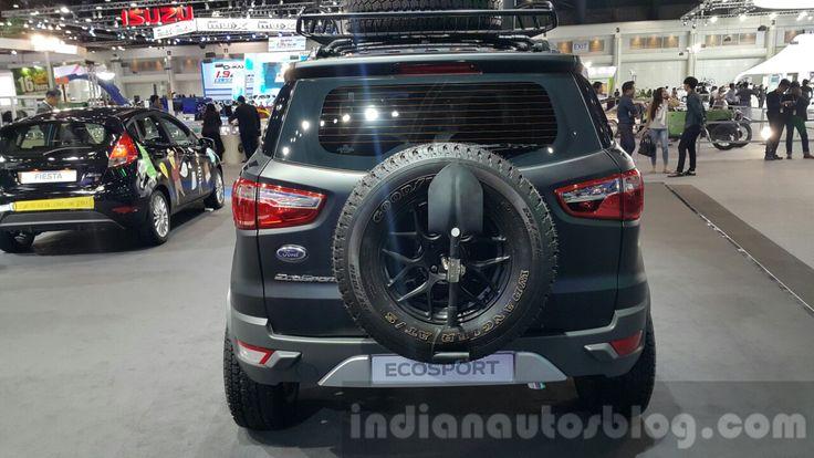 Ford EcoSport custom rear fascia at 2015 Thailand Motor Expo