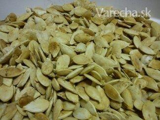 Pečené tekvicové jadierka (fotorecept) - Recept