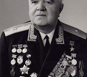 Генерал-майор Б. А. Александров
