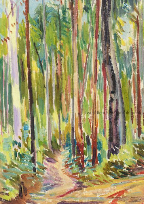 Australian Bush oil painting by I.Tweddle