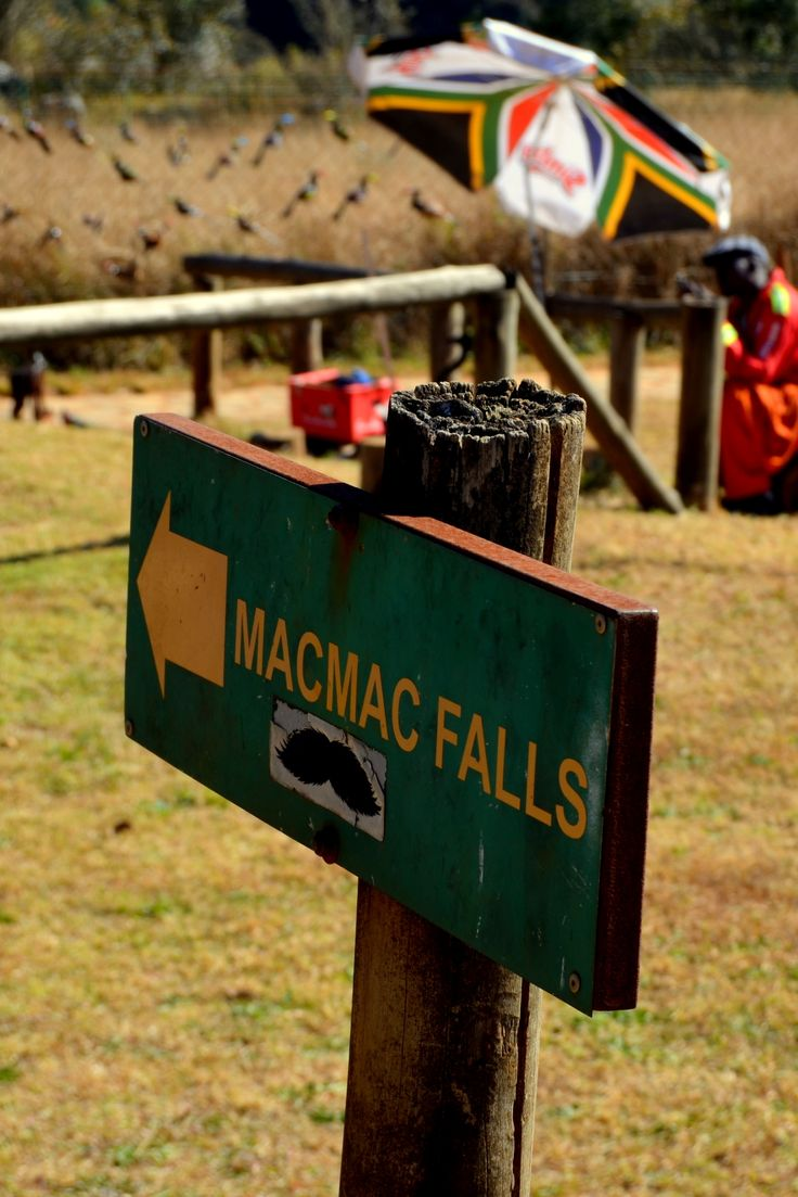 Mac Mac Falls this way! By Rosemary Hall