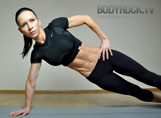 550 Rep Massacre; the first workout I ever stumbled upon on bodyrock and it became life changing. I will swear by her workouts if you stick to them consistently and eat right. I'm a little obsessed! :)