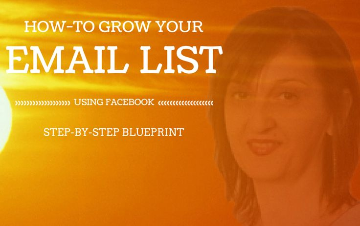 How To Grow Your Email List Using Facebook Ads #facebookads #howto #entrepreneur #facebookforbusiness http://vivamomentum.com/grow-email-list-using-facebook.html