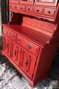 This Red Hutch Is The Of My DreamsI Bet Kim
