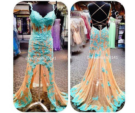 Blue prom dresses,Homecoming dresses,Bridesmaid dresses Blue prom dressesBridal gownsMother's by DressProm20141 on Etsy, $140.00