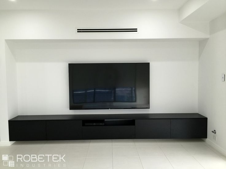 Custom Floating Tv Units In Many Modern Living Rooms