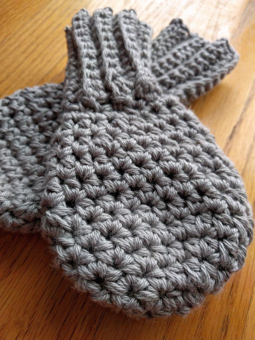 Free Crochet Pattern For Thumbless Mittens : 1000+ ideas about Toddler Mittens on Pinterest Crochet ...