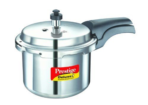 Prestige Deluxe Plus Aluminum Pressure Cooker 3 Liter by Prestige >>> You can get additional details at the image link.