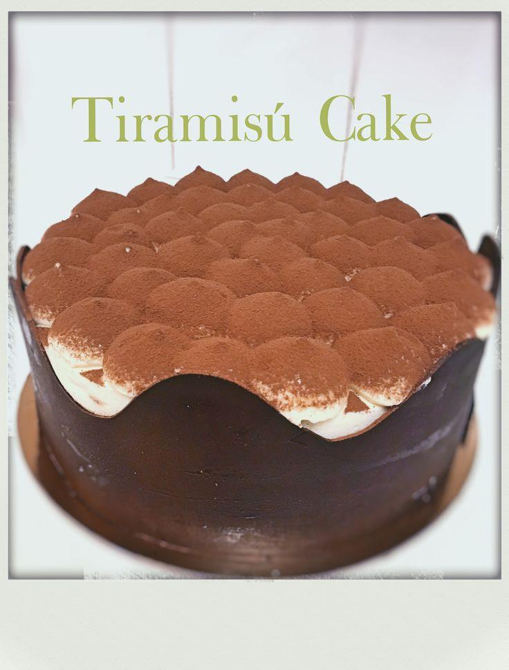 My Tiramisú cake