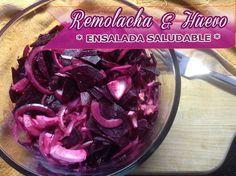 Ensalada de Remolacha y Huevo   Recetas Con Ensaladas