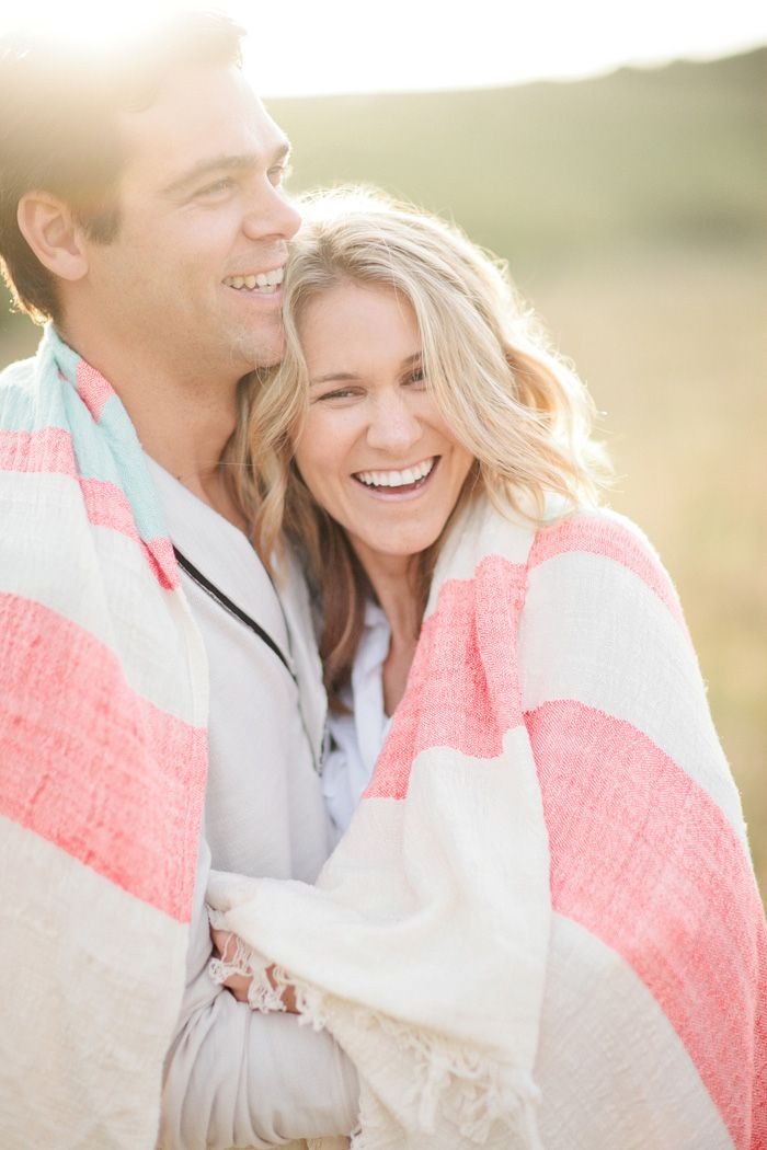 Great engagement picture styling