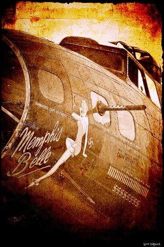 Memphis Belle Aviation Art Print by CosmikFrogPhotograph on Etsy, $10.00
