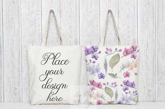 Download Two Tote Bag 2 Totes Psd Mockups Bag Mockup Psd Template Free Tote Bag
