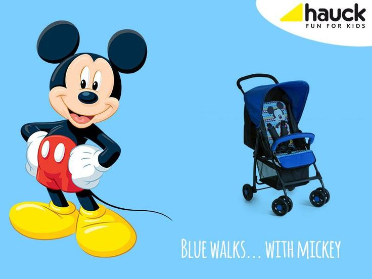 Let's go shopping! #Hauck #Sport MickeyMouse