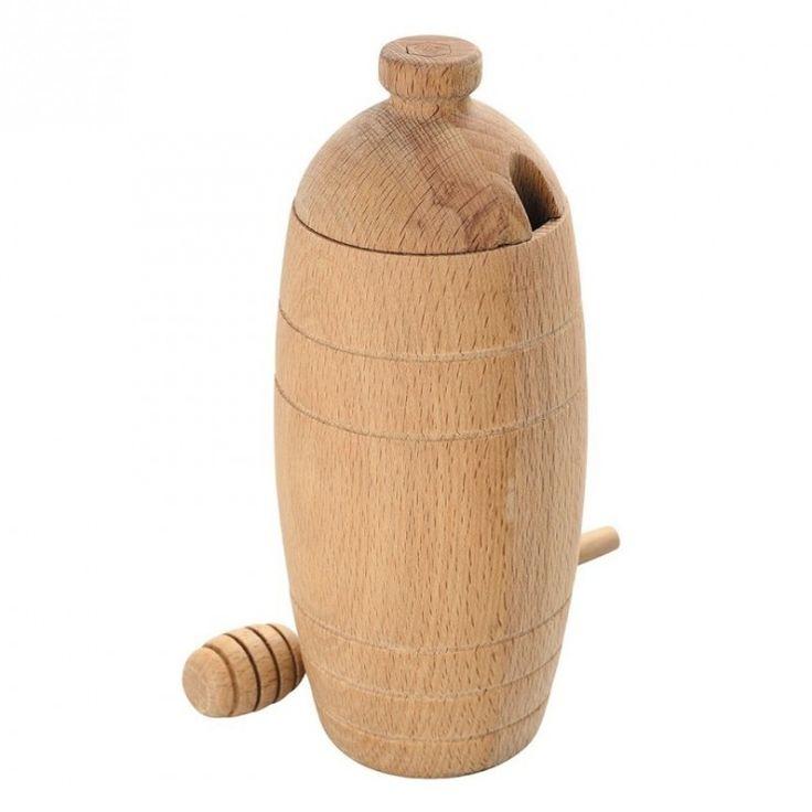 Idéal pourles petits-déjeuners et les goûters Conception de qualité en boisde hêtre Une forme originale rappelant la ruche Livré dans une boîte cadeau en carton   Prix de vente conseillé par le fournisseur en 2017