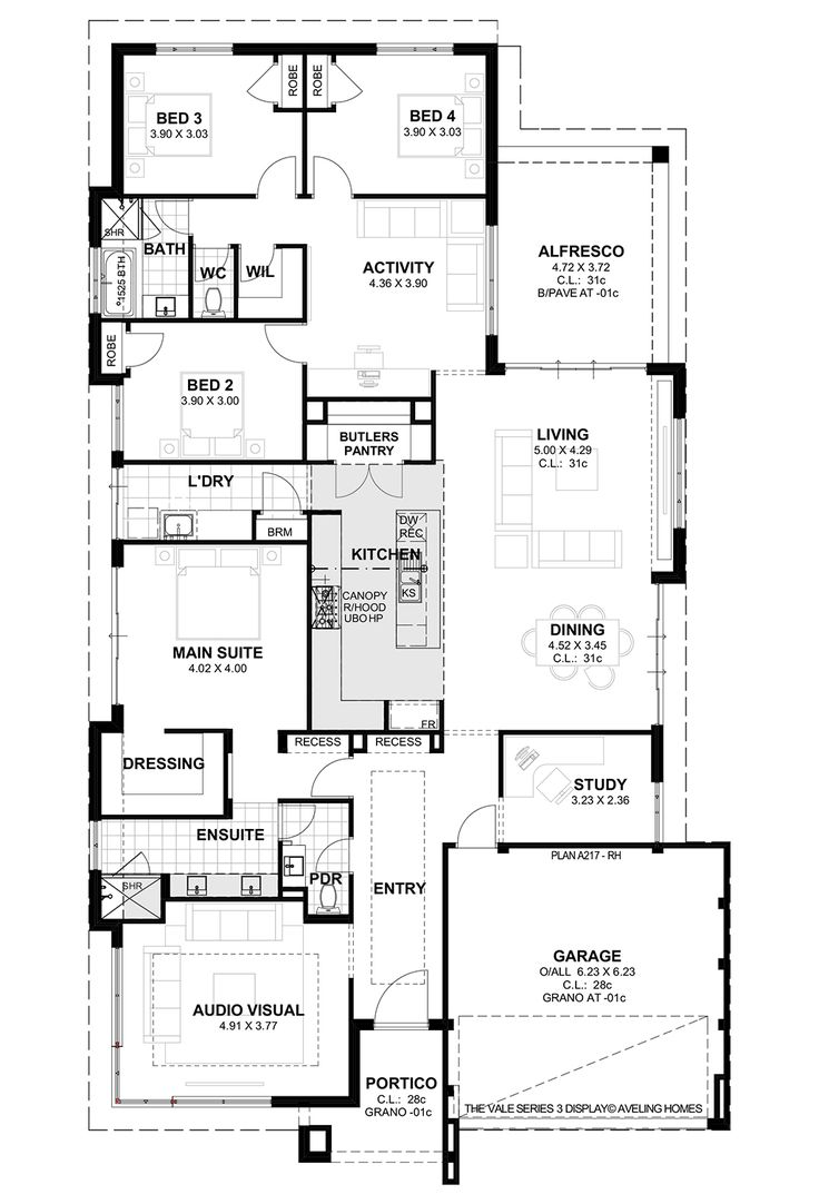 The Vale S3 Floorplan