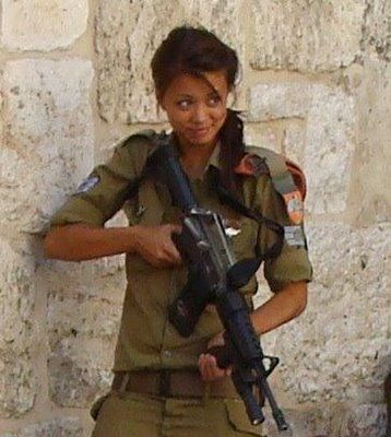 israeli+woman   Israel women also get to oppress Palestinians! How's that for ...