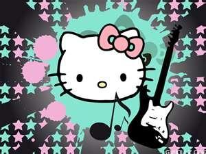 Hello Kitty really rocks!!