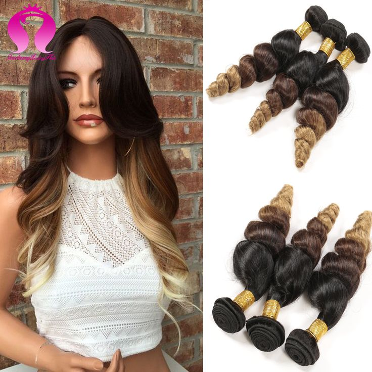 Find more human hair extensions information about best quality find more human hair extensions information about best quality brazilian virgin hair ombre color 1b 427 blond ombre human hair extensions loose w pmusecretfo Images