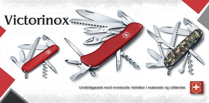 Victorinox Lommeknive www.nyttigbras.