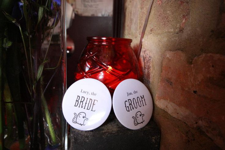 Bride & Groom Pins The Boileroom  Looking for a venue to host your wedding reception? Email lydia@theboileroom.net