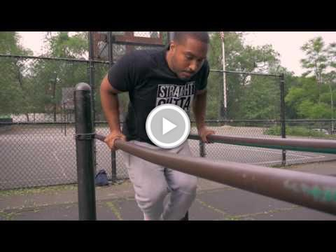 Dip To Muscle Up Tutorial  (Parallel Bars Muscle Up)