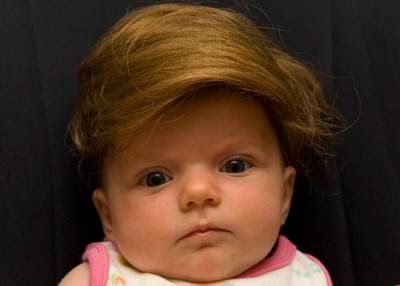 32 Ridiculous Things People Actually Buy For Kids.  Baby Toupee