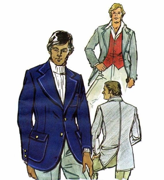 Vest Jacket Mens