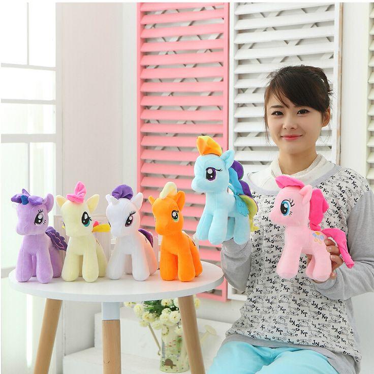 "$2.76 (Buy here: https://alitems.com/g/1e8d114494ebda23ff8b16525dc3e8/?i=5&ulp=https%3A%2F%2Fwww.aliexpress.com%2Fitem%2F1Pcs-6-15cm-Cute-Rainbow-Horse-Toys-Cartoon-Toys-Hobbies-Stuffed-Dolls-Movie-TV-Stuffed-Plush%2F32434682001.html ) 1Pcs 6"" 15cm Cute Rainbow Horse Toys Cartoon Toys Hobbies Stuffed Dolls Movie TV Stuffed Plush Animals Little Horse BaoLi for just $2.76"