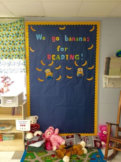 Minion themed classroom | Minions