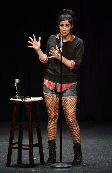 Sarah Silverman Photos Photos - Comedian/actress Sarah Silverman performs her stand-up comedy routine at MGM Grand Hotel & Casino on October 21, 2016 in Las Vegas, Nevada. - Sarah Silverman Performs at MGM Grand in Las Vegas