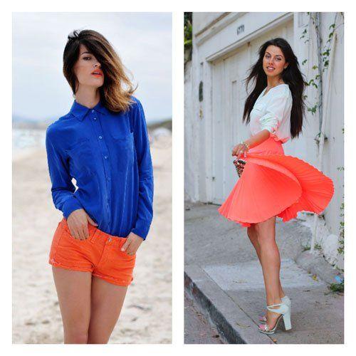 neon fashion 2013 | neon kleding Fashion trend lente/zomer 2013: Neon & Pastel