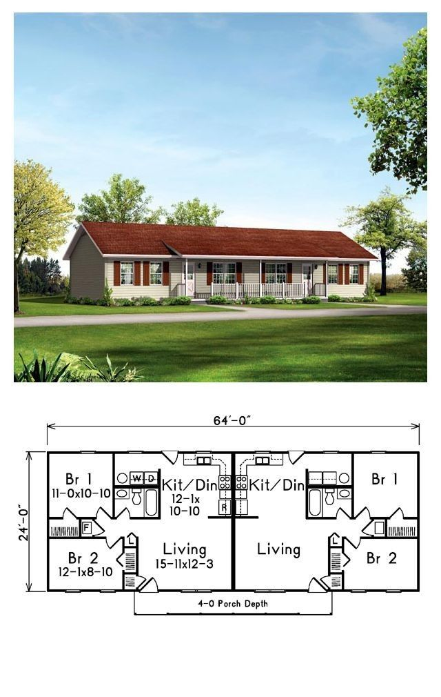 500 Reviews 12 Unique Multi Family House Plans Family House Plans Duplex House Plans Duplex House Design