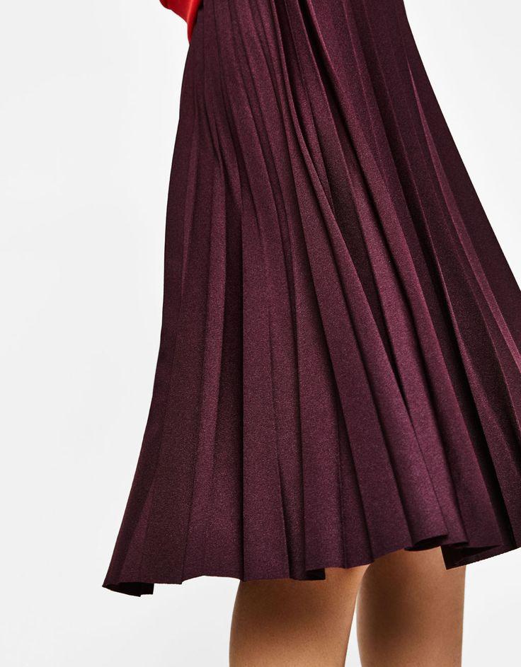 Pleated midi skirt  REF 5665/326