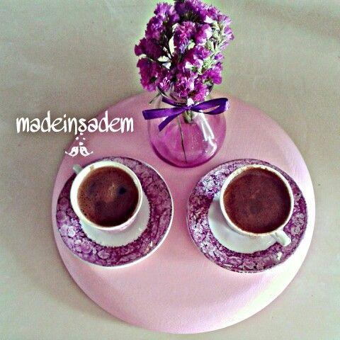 Arkadasla kahve molasi