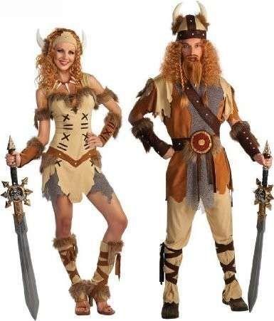 Disfraces Carnaval 2014: Fotos de ideas para parejas - Disfraces en pareja Carnaval 2014: Vikingos