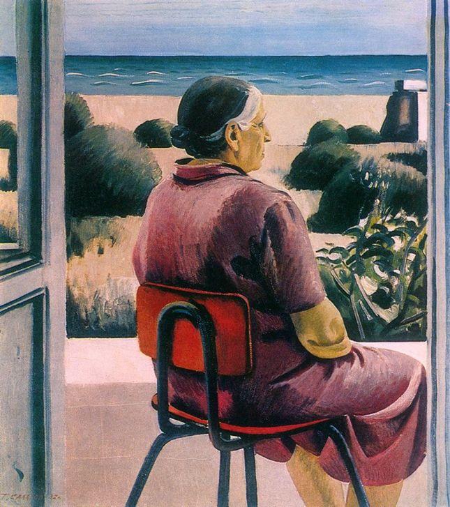 Таир Салахов. «Ожидание. Портрет матери». 1982 г.