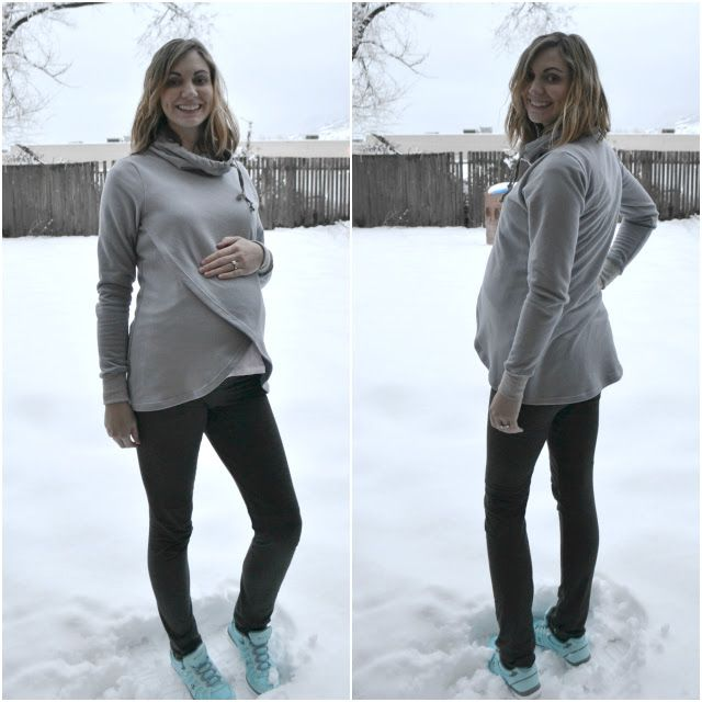 Me Made: Maternity and Nursing-Friendly Hoodie